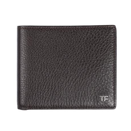 Tom Ford // Bi Fold Wallet // Dark Brown