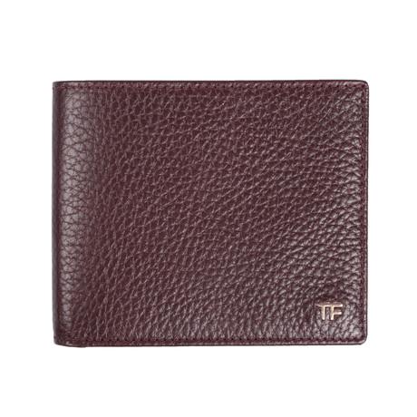 Bi Fold Wallet // Warm Plum