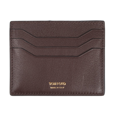 Card Holder // Brown Texture