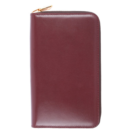 Zipper Wallet // Plum