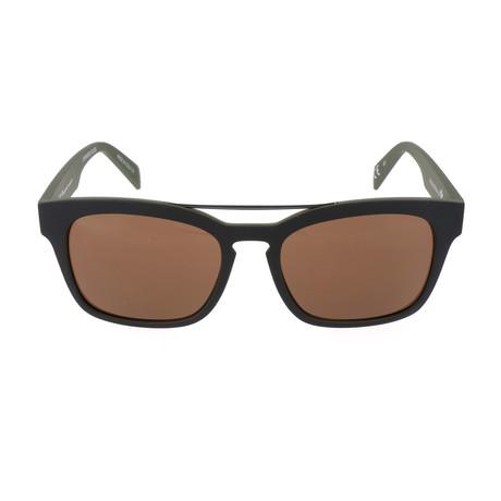 Hero Sunglasses // Camo Green