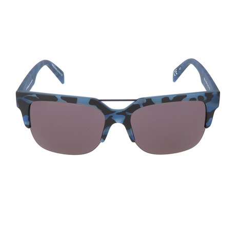 I-Plastik 0918 Sunglasses // Camo Blue