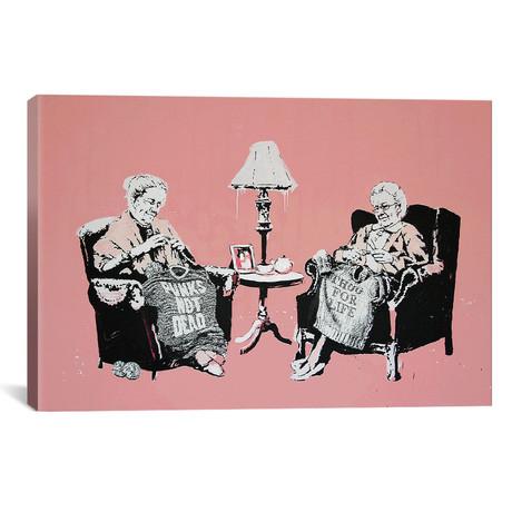 Punk And Thug Grannies // Banksy