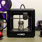 The Micro+ 3D Printer (Black)