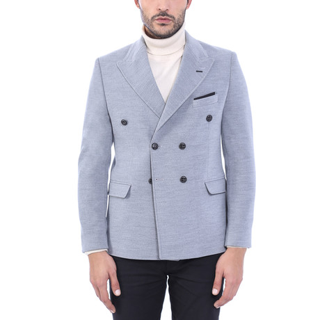 Double Breasted Blazer I // Gray (Euro: 44)