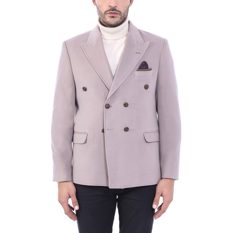 Double Breasted Blazer // Lilac (Euro: 44)