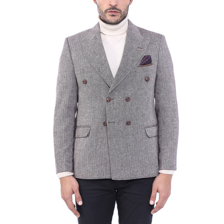 Double Breasted Blazer II // Gray (Euro: 44)
