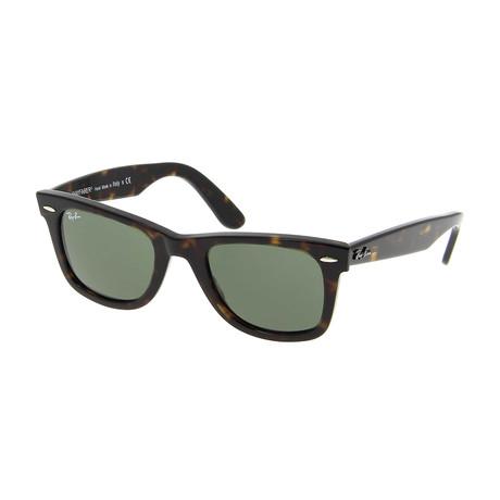 Wayfarer™ // Havana + Crystal Green