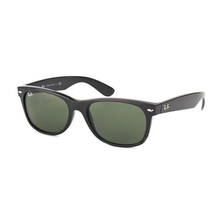 Retro Classic  // Black + Crystal Green // Polarized