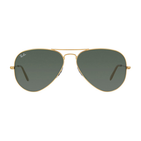 Aviator // Gold + G15 // Polarized
