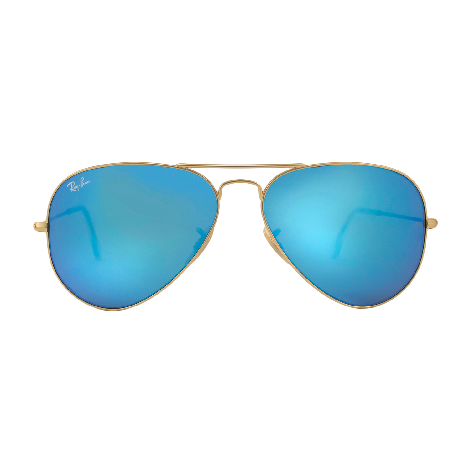 fa0d27288100 ... buy ray ban aviator matte gold blue mirror 58mm 24 hour special ray ban  touch of