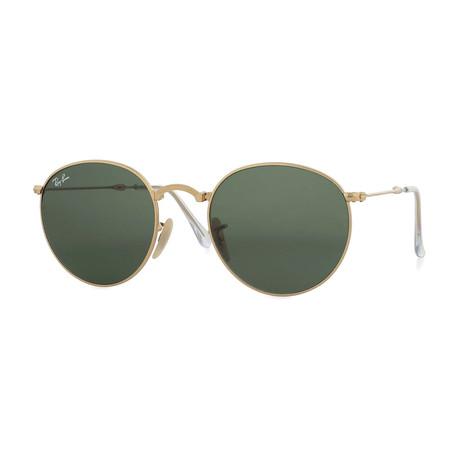 Round Folding // Gold + G15 Green