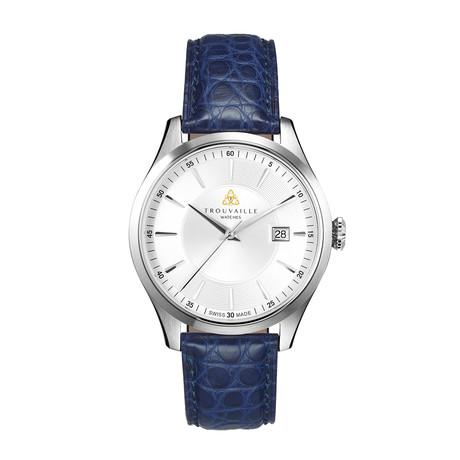Classic Index White Automatic // TWA40004.22-BLU