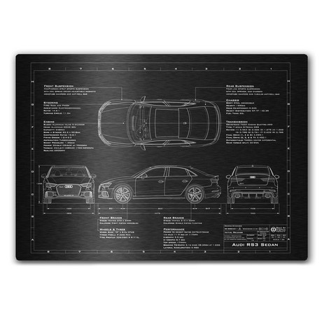 Audi // 2016-2017 // RS3 Sedan