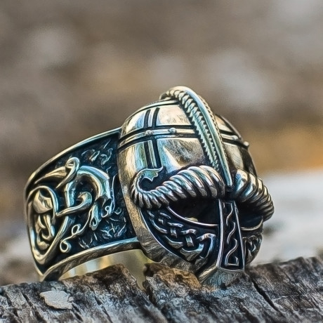 Viking Collection // Viking Helmet Ring (5)