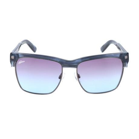 Ivano Sunglasses // Blue Gunmetal