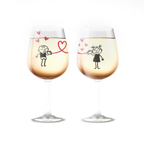 Love Glasses Set