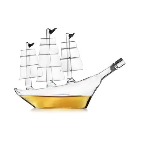 Large Ship Decanter