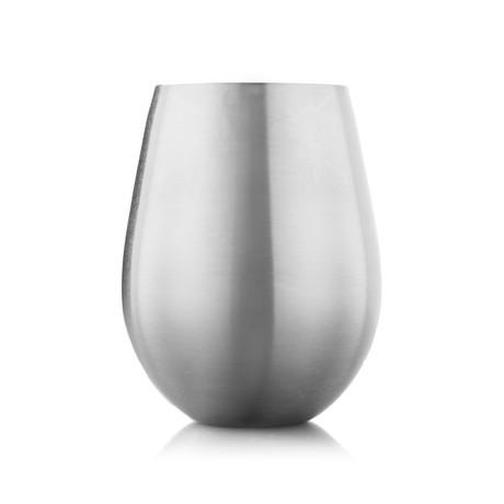 Metal Wine Glasses