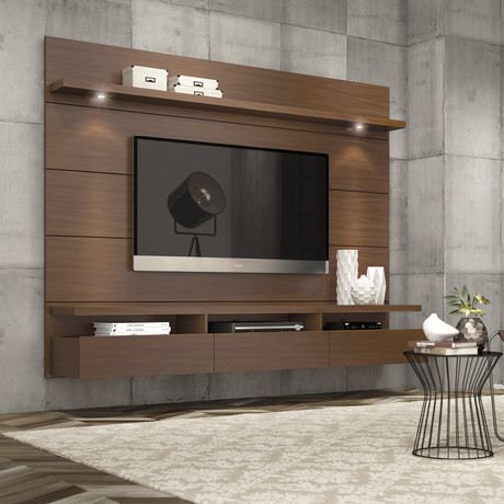 Cabrini 1.8 Floating Wall Theater Entertainment Center
