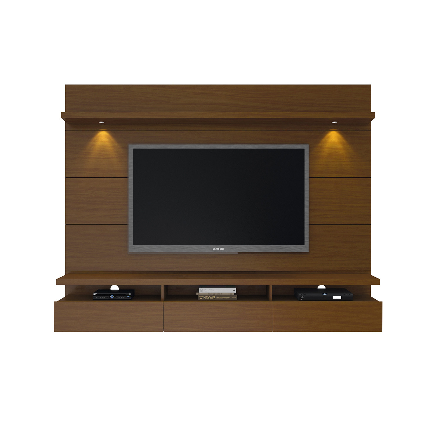 50 Images Of Modern Floating Wall Theater Entertainment: Cabrini 2.2 Floating Wall Theater Entertainment Center