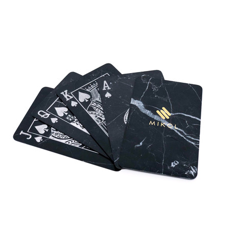 Marble Poker Cards