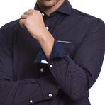 Antonio Casual Button-Up // Purple (XL)