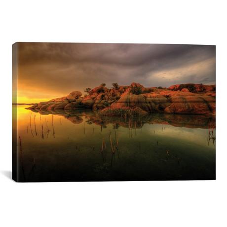 Willow Lake Rock Wide I // Bob Larson