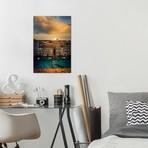 "Sunset In Venice // Enzo Romano (12""W x 18""H x 0.75""D)"