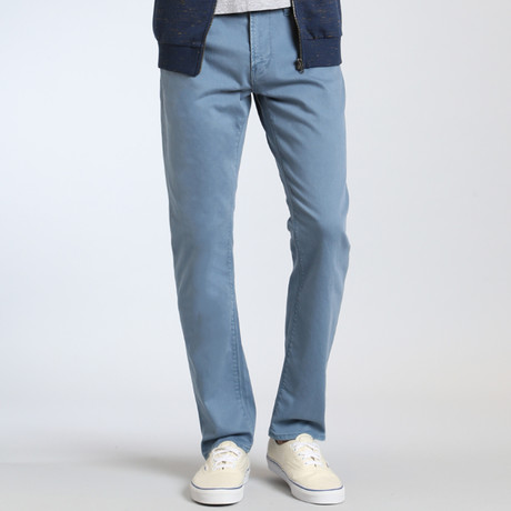 Marcus Slim Straight Leg Pants // Blue Washed Comfort