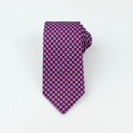 Brioni // Men's Silk Tie 107 // Purple