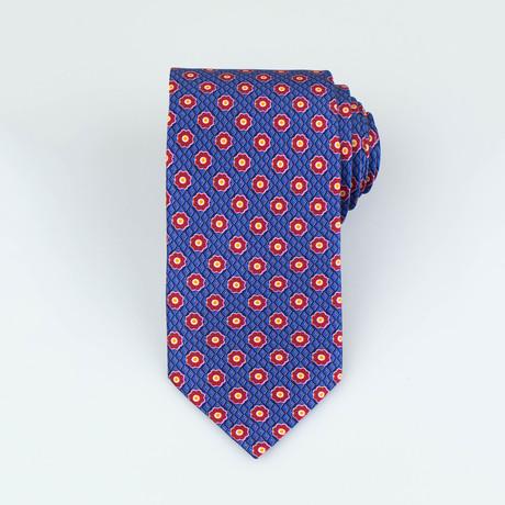 Brioni // Men's Silk Tie 114 // Blue