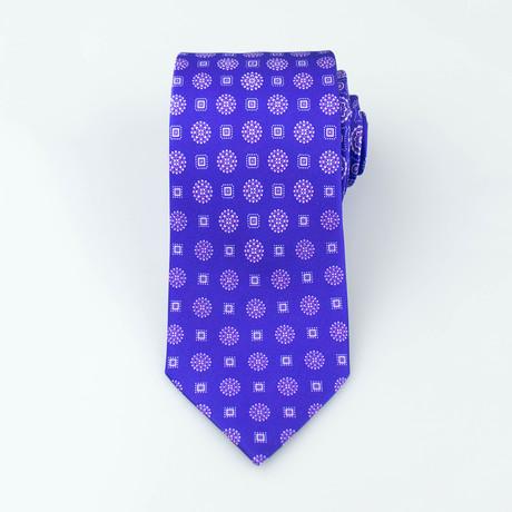 Brioni // Men's Silk Tie 122 // Purple