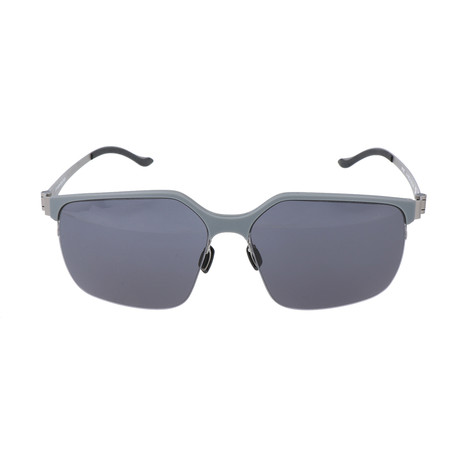 Men's M1037 Sunglasses // Gray + Silver