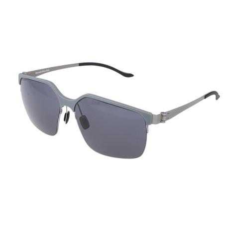 Men's M1037 Sunglasses // Gray + Silver