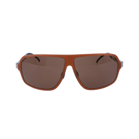Men's Semeon Sunglasses // Rust