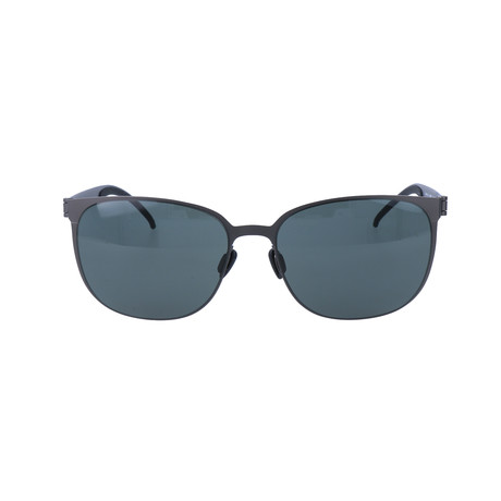 Men's M5030 Sunglasses // Gunmetal + Green