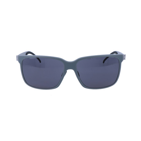 Men's M7004 Sunglasses // Gray + Silver