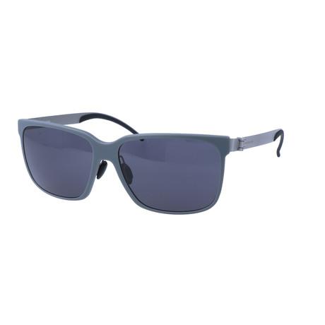 Men's M7004 Sunglasses // Gray + Silver