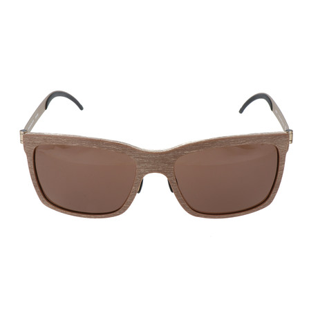 Men's Tobie Sunglasses // Light Brown