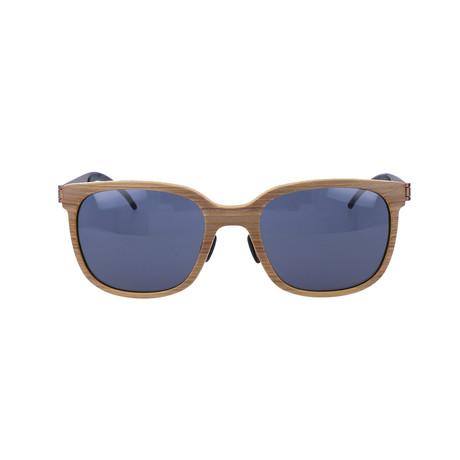 Maxius Sunglasses // Honey Wood