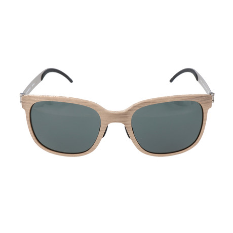 Men's Maxius Sunglasses // Beige Wood
