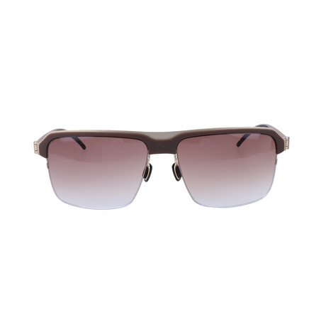 Schneider Sunglasses // Brown + Gold