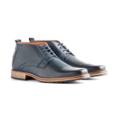 London Leather // Dark Blue