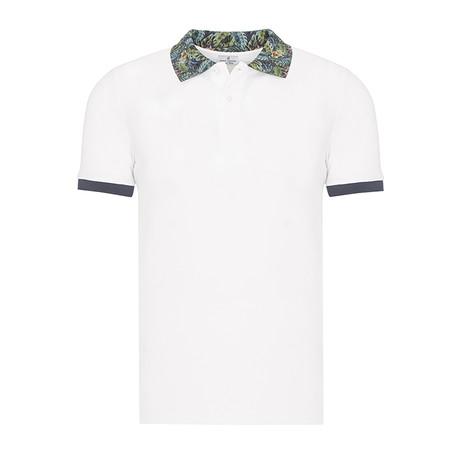 Short Sleeve Polo I // White