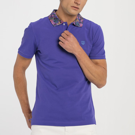 Short Sleeve Polo IV // Royal