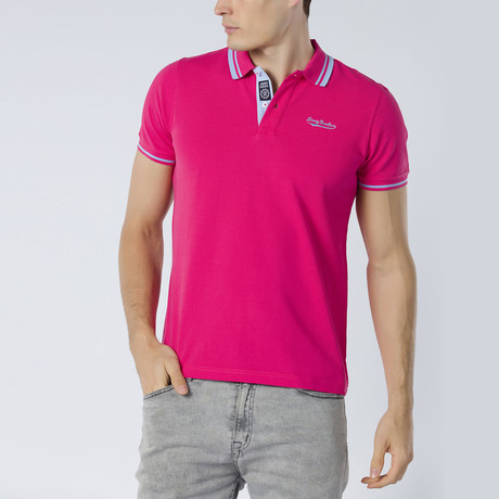 Short Sleeve Polo XIV // Pink