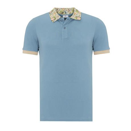 Short Sleeve Polo I // Oil