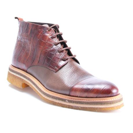 Reprise // Pax Cap Toe Boot // Tobacco (Euro: 40)