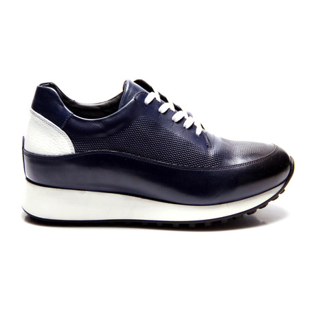E. Goisto // Jesus Sneaker // Dark Blue (Euro: 40)